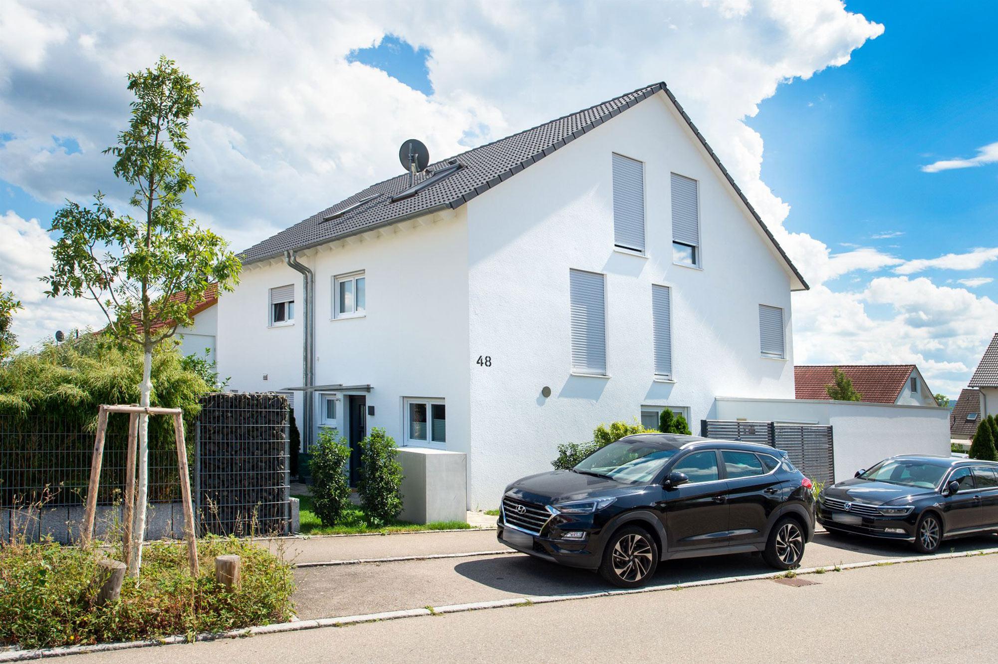 Doppelhaus Bau günstig zu Festpreisen