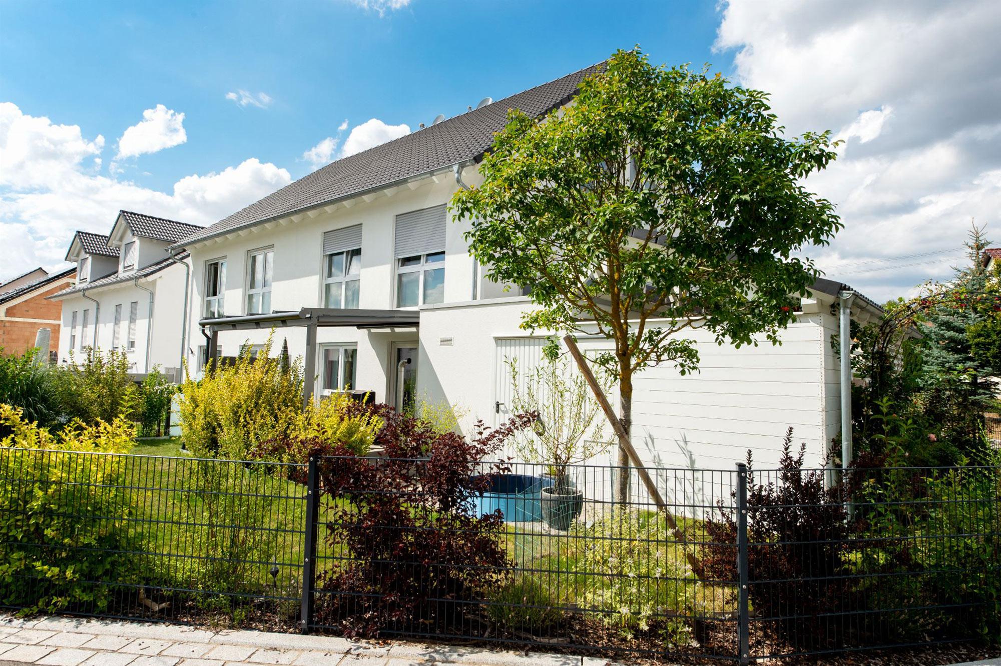 Doppelhaus Bau günstig zu Festpreisen in Böblingen